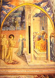 15th-century painting of St. Francis meeting with the Sultan Al-Kamil (some of the earliest Christian/Muslim dialogue!)